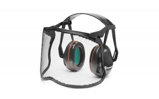 Garden Earmuffs with Mesh Visor